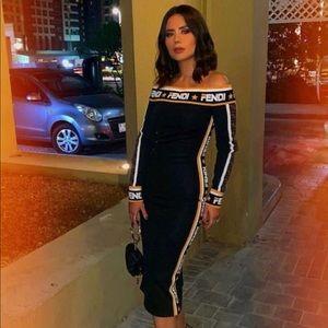 Luxury Fendi dress